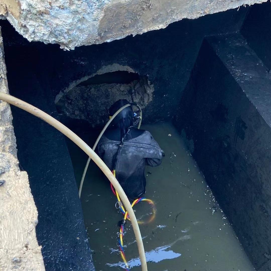 湖州检查井管道封堵电话-实力派水下打捞
