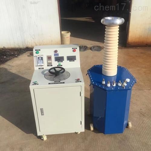 油浸式高压试验变压器型号