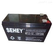 SEHEY蓄电池NP9-12 12V9AH携带方便