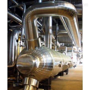 管道岩棉铁皮保温工程 管道保温施工价格