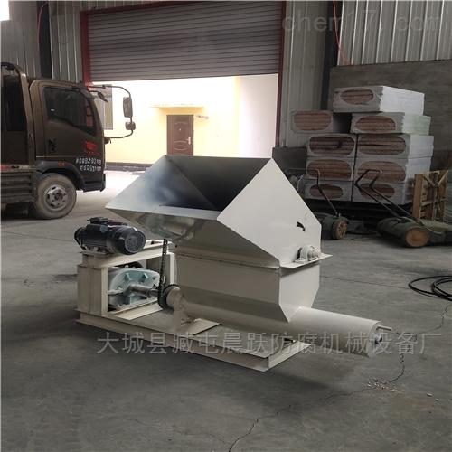 废旧泡沫一体式热熔机 熔块机生产厂家