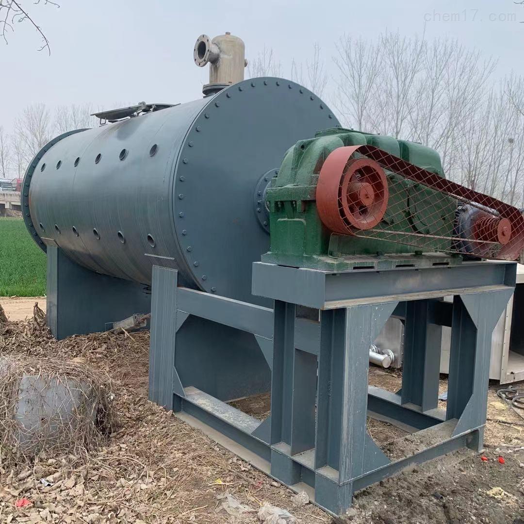 二手10吨全新未用不锈钢真空耙式干燥机