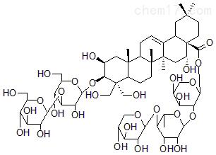 去芹糖桔梗皂苷D2标准品