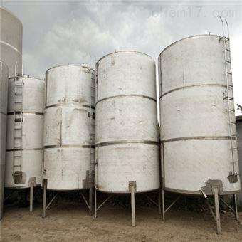 二手白钢储水罐10吨