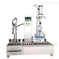 ACX润滑油灌装机 半自动两头液体灌装秤