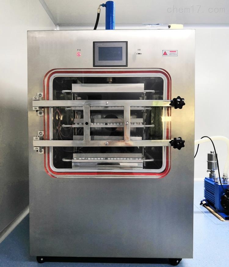 一平米EGF冻干粉西林瓶压盖冷冻干燥机