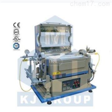 OTF-1200X-IR-IISL雙溫區紅外加熱快速熱處理爐