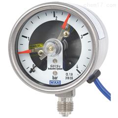 PGS23.063WIKA威卡带开关电接点的波登管压力表价格