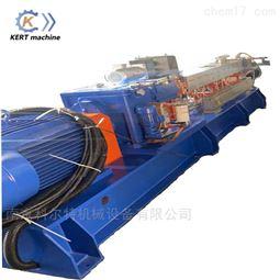尼龙料改性双螺杆挤出机塑料造粒机价格