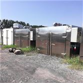 出售二手热风循环四门八车192盘工业烤箱