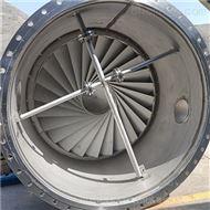 金属304旋流板除沫器连塔体制作供货