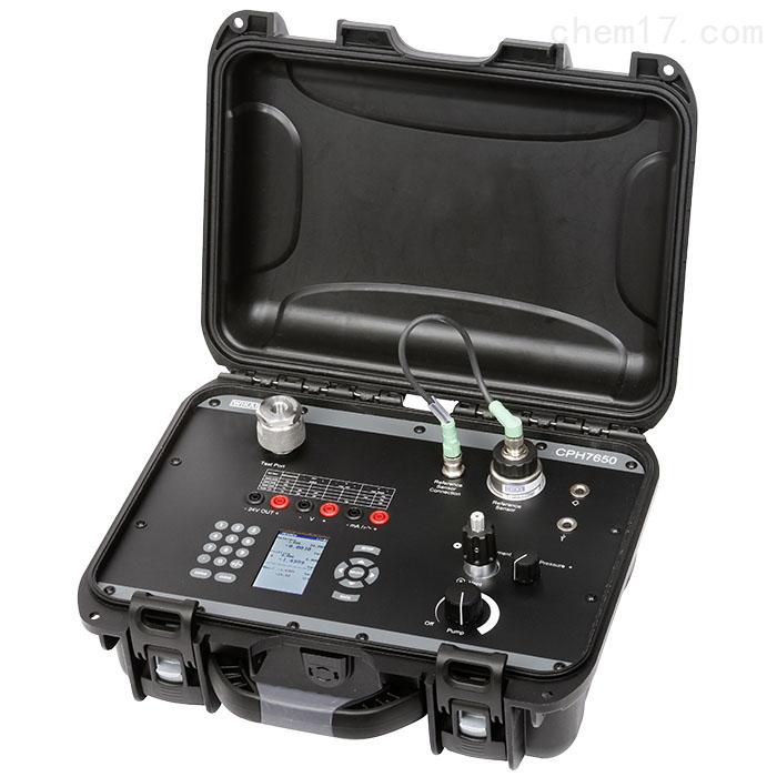WIKA便携式压力校准仪CPH7650具备温度补偿