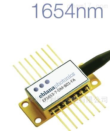 1653nm激光器用于甲烷检测CH4