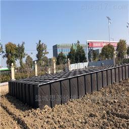 抗浮式地埋箱泵一体化底板采用筏板基础