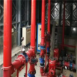 消防箱泵一体化泵站水泵组的位置