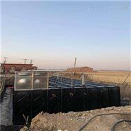 定制抗浮式一體化增壓恒壓消防泵站現場組裝