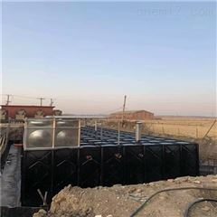 抗浮式一体化增压恒压消防泵站现场组装