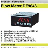 DF9648马腾斯martens流量计流量显示器卫生