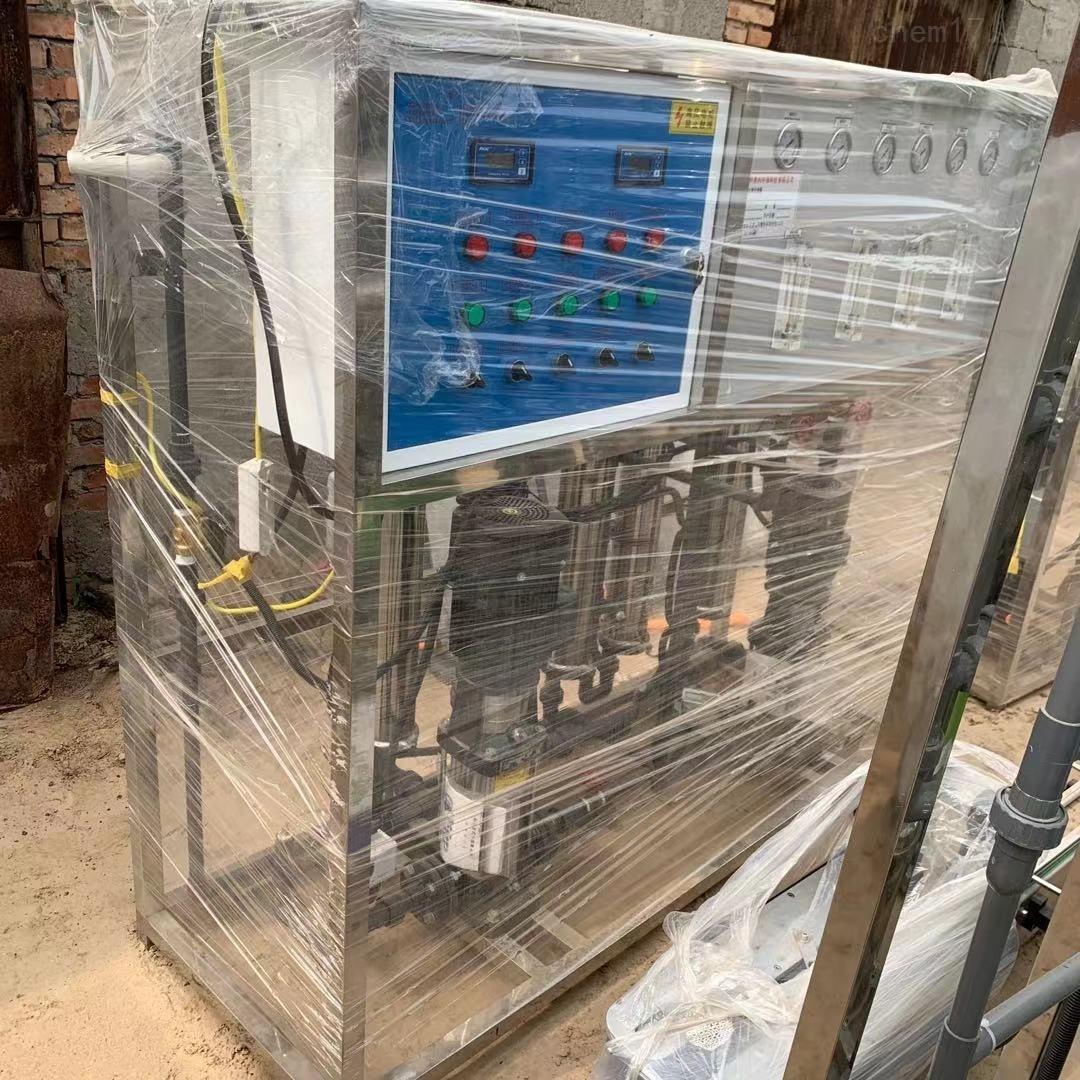 二手玻璃水尿素2吨EDI双机反渗透水处理