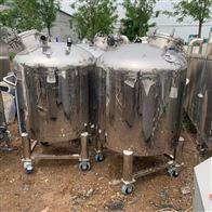 二手500型可移动式不锈钢储罐