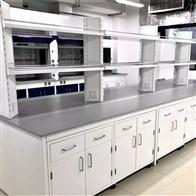 SYT-03深圳耐刮建筑工程检测实验室家具钢木实验台