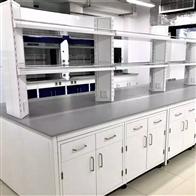 SYT-06广州对液体吸收性强理化板台面全钢实验台