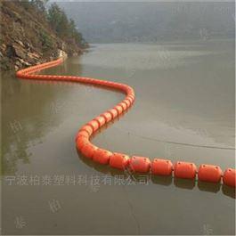 FT600*1000塑料水上拦漂排漂浮类垃圾拦截浮筒隔离浮体
