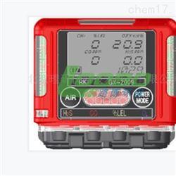 GX-2009日本理研袖珍型大屏幕显示四种气体检测仪