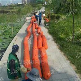 FT300*1000可减少人力劳动的垃圾拦截塑料拦污漂排浮筒
