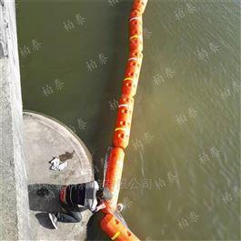 FT300*1000电站进水口拦污漂排浮筒拦截垃圾保护设备