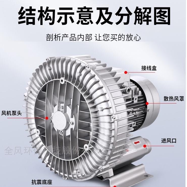工厂用吸料高压风机