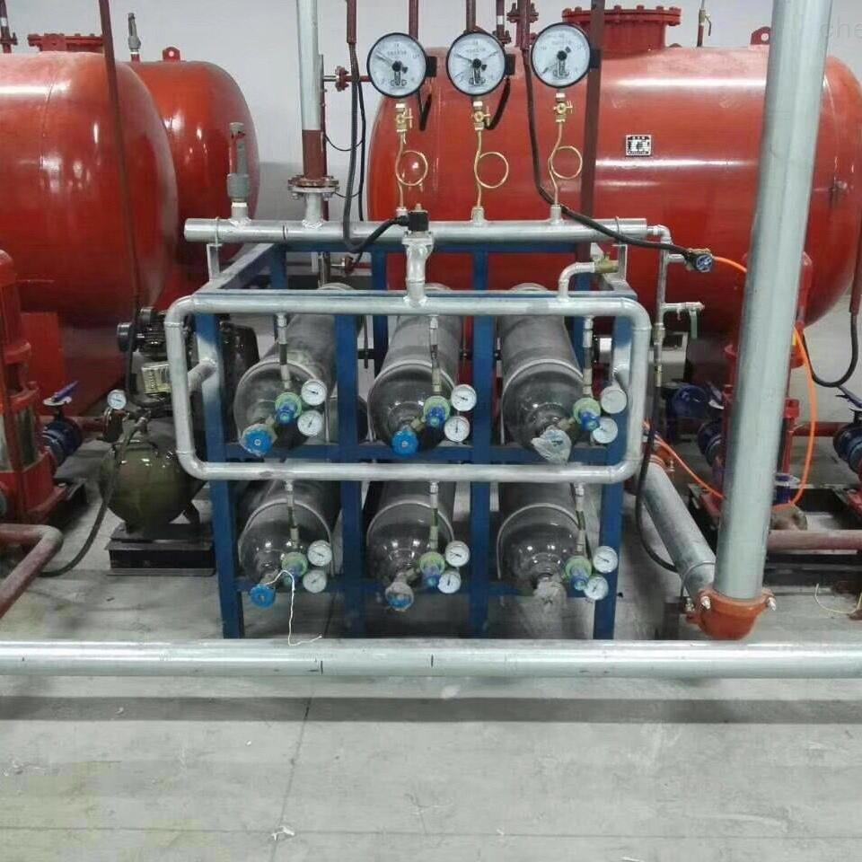 消防气体顶压给水设备代替高位水箱