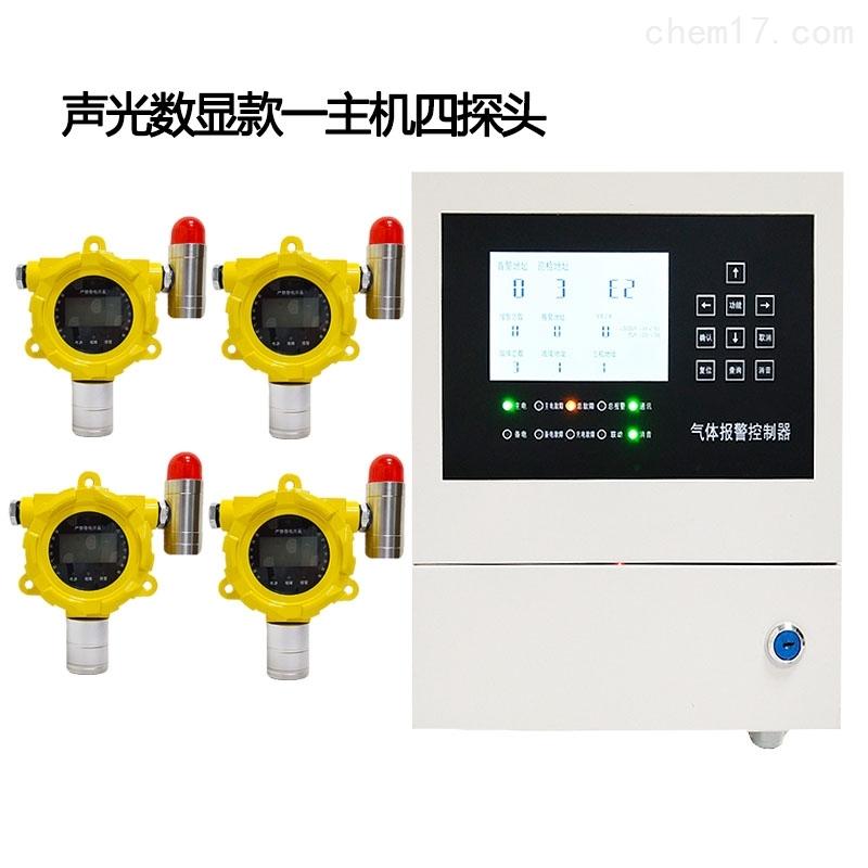 固定式工业一氧化碳泄漏气体报警器