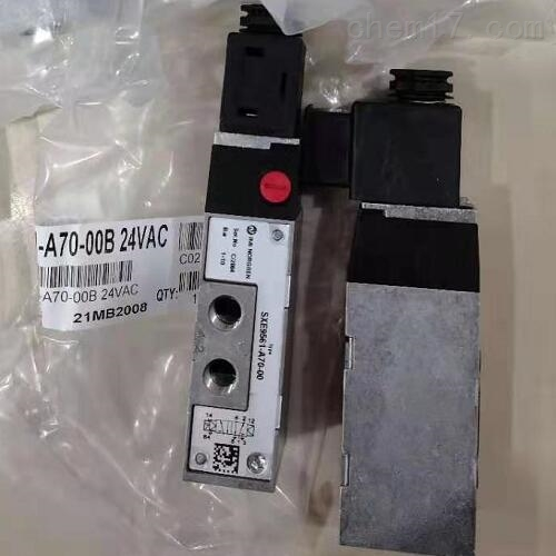 NORGREN管式连接电磁阀选型样本