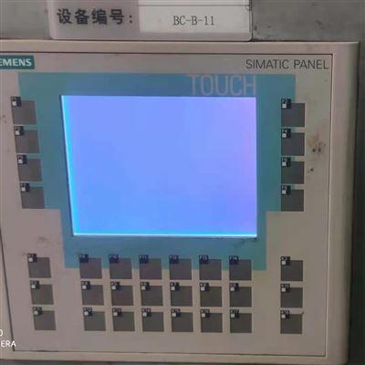 多年成功解决西门子操作屏开机白屏不显示