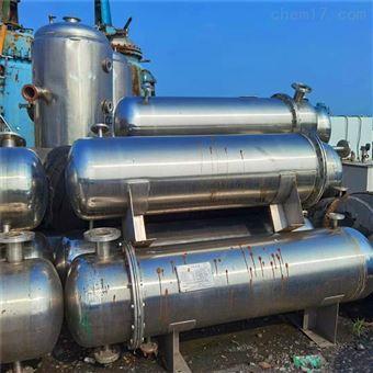 厂家热卖二手100平方不锈钢列管式换热器