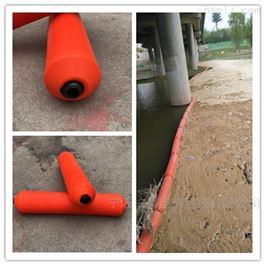 FT300*1000水上拦污绳排拦截隔离水面垃圾的拦污浮筒