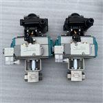 Q611F-420PBKH氣動不銹鋼高壓球閥