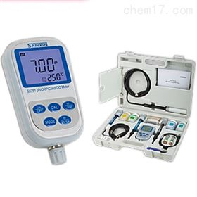 SX751上海三信便携式pH/ORP/电导率/溶解氧仪