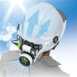 日本田岛tajima头盔风扇工地安全帽清凉用