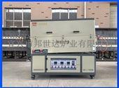 電熱式氣氛回轉爐  爐石英管旋轉管式爐