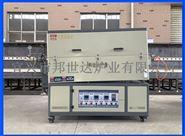 BJXG-38-10电热式气氛回转炉  炉石英管旋转管式炉