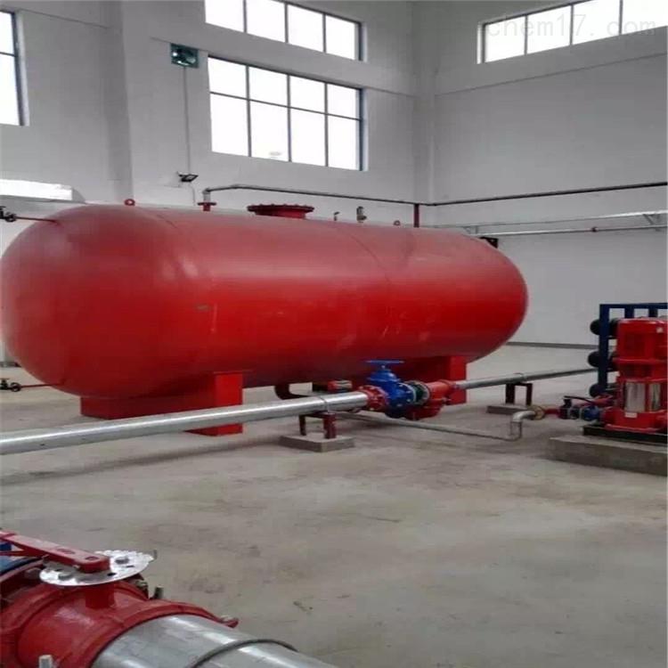 消防气体顶压给水设备安装图