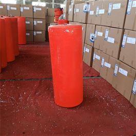 FT400*1000穿孔连接的水上聚乙烯拦污阻污塑料浮筒