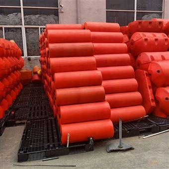 FT400*1000PE塑料拦截浮筒可隔离水面垃圾拦污浮筒排