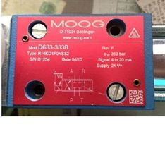 D661-4334C 穆格伺服阀MOOG美国进口