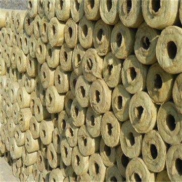 27-1220石油管道岩棉保温管施工,80kg密度价格