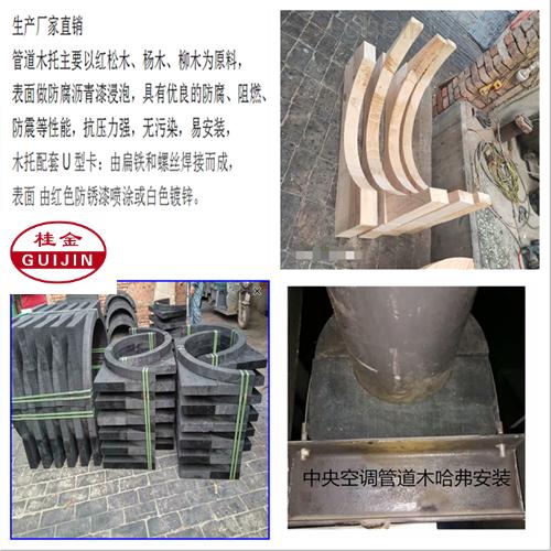 防腐无缝管用保温管道木托管卡生产厂家