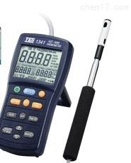 便携式风速仪 带风量,温度,湿度测量