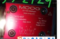 穆格D633-657特价华东区代理MOOG伺服阀D633-657 R12KO1M0